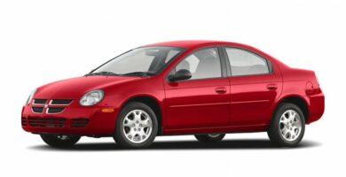 Manual Dodge Neon 2005 de Propietario