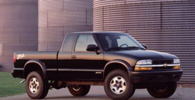 Chevrolet S10 1996-2004 Manual de Reparación