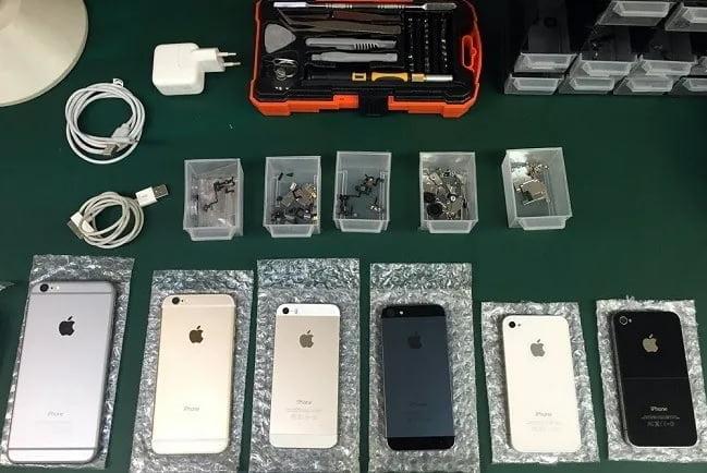 Manuales de Reparación iPhone