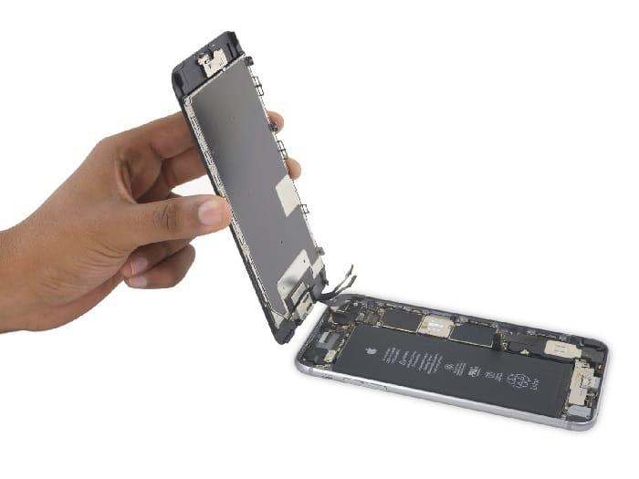 Reparando Pantalla de Iphone