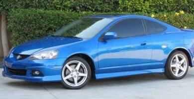 Acura RSX 2002-2006 Manual de Reparación