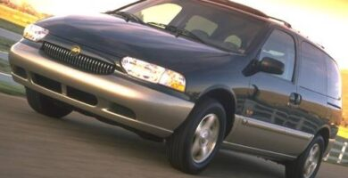 Manual Ford Villager 1998
