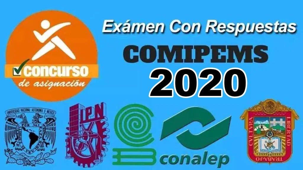 Examen con Respuestas Comipems 2020