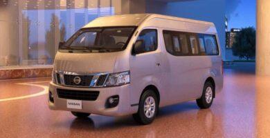Manual Nissan Urvan 2015 de Propietario