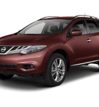 Manual Nissan Murano 2011 de Propietario