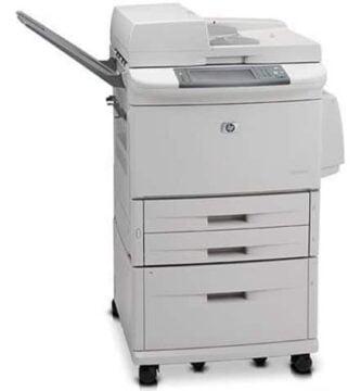 Manual Hp LaserJet M9059