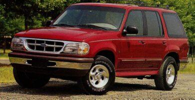 Manual Ford Explorer 1996 Reparación y Servicio
