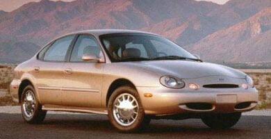 Manual Ford Taurus 1996 Reparación y Servicio
