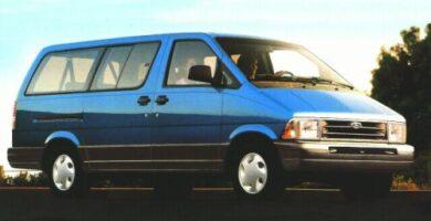 Manual Ford Aerostar 1996 Reparación y Servicio