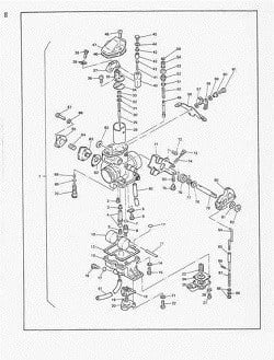Manual Moto Suzuki AN400 K3 Reparación en PDF TRANSMISION