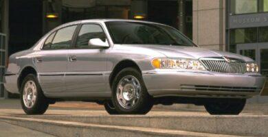 Manual Ford Continental 1999 Reparación y Servicio