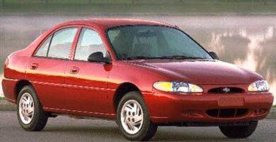 Manual Ford Escort 1999 Reparación y Servicio