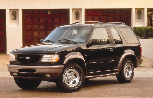 Manual Ford Explorer 1998 Reparación y Servicio
