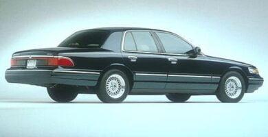 Manual Ford Grand Marquis 1998 Reparación y Servicio