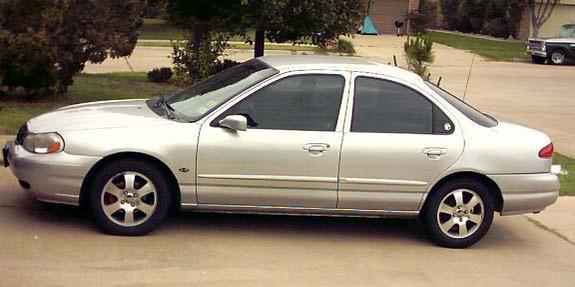 Manual Ford Mystique 1998 Reparación y Servicio