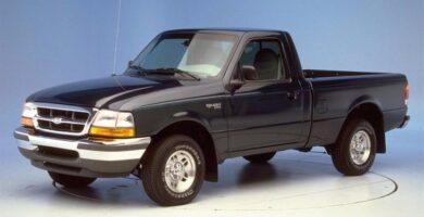 Manual Ford Ranger 1998 Reparación y Servicio