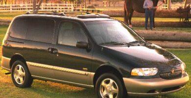 Manual Ford Villager 1999 Reparación y Servicio