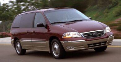 Manual Ford Windstar 1999 Reparación y Servicio