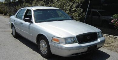 Manual Ford Crown Victoria 1999 Reparación y Servicio