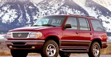 Manual Ford Mountaineer 1998 Reparación y Servicio