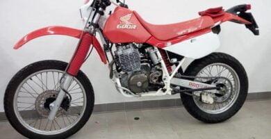 Manual Moto Honda XR 600 Reparación y Servicio