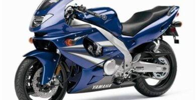Manual Moto Yamaha YZF 600 2001 Reparación y Servicio
