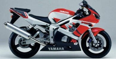 Manual Moto Yamaha YZF R6 1999 Reparación y Servicio