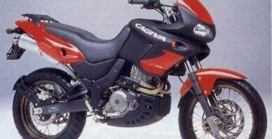 Manual Moto Cagiva Canyon 600 Reparación y Servicio