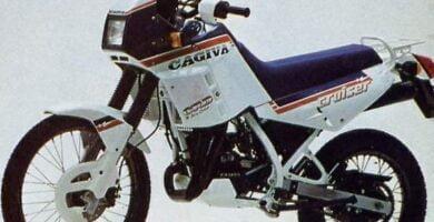 Manual Moto Cagiva Cruiser 125 1988 Reparacion y Servicio
