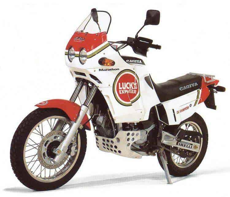 Manual Moto Cagiva Elefant 900 1993 Reparacion y Servicio
