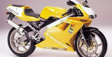 Manual Moto Cagiva Planet 1997 Reparacion y Servicio
