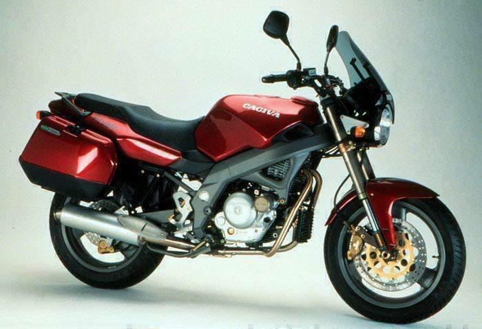 Manual Moto Cagiva River 600 1995 Reparacion y Servicio