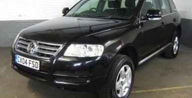 Manual Volkswagen Touareg 2004 Reparación