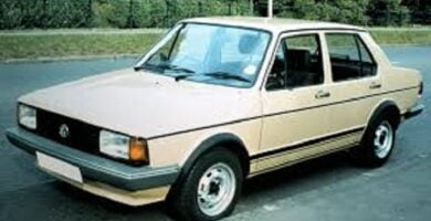 Manual Volkswagen Jetta 1985 Reparación