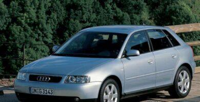 Manual Audi A3 2000 Reparación y Servicio