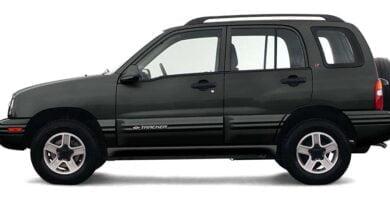 Manual Tracker 2003 Chevrolet de Reparación y Servicio