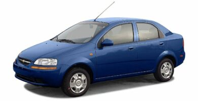 Manual de Reparación Chevrolet Aveo 2004
