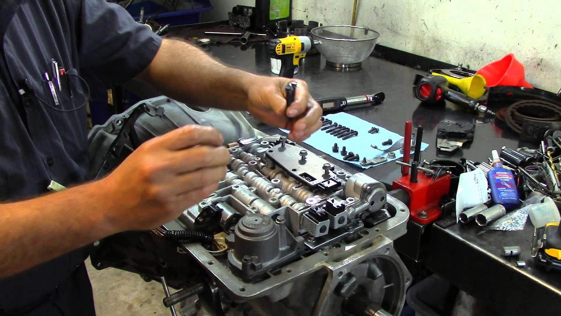 Reparación Transmision Corvette 2004