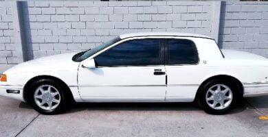 Manual COUGAR 1992 Ford PDF Reparación Taller