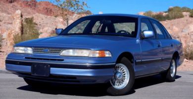 Manual CROWN VICTORIA 1994 Ford PDF Reparación Taller