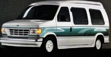 Manual ECONOLINE 1992 Ford PDF Reparación Taller