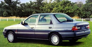 Manual ESCORT 1993 Ford PDF Reparación Taller