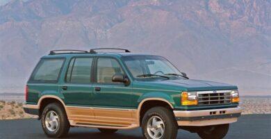 Manual EXPLORER 1993 Ford PDF Reparación Taller