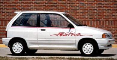 Manual FESTIVA 1993 Ford PDF Reparación Taller