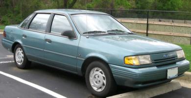 Manual TEMPO 1994 Ford PDF Reparación Taller