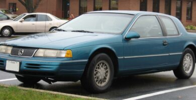 Manual COUGAR 1993 Ford PDF Reparación Taller