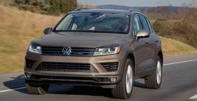 Catalogo de Partes TOUAREG 2016 VW AutoPartes y Refacciones