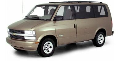 Manual de Usuario CHEVROLET Astro 1996 en PDF Gratis