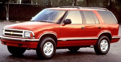 Manual de Usuario CHEVROLET Blazer 1995 en PDF Gratis