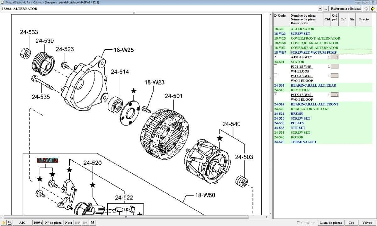 Transmisión de Autos Mazda